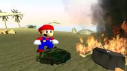 Mario Gets Stuck On An Island 023