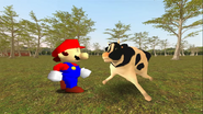 Mario Goes to the Fridge to Get a Glass Of Milk 221