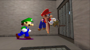 Mario's Prison Escape 016