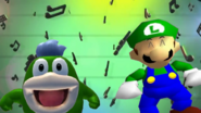 For Once Luigi Gets To Be In The Spotlight Instead Of Mario