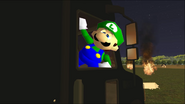 Mario Goes to the Fridge to Get a Glass Of Milk 304