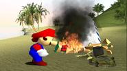 Mario Gets Stuck On An Island 022