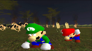 Mario Goes to the Fridge to Get a Glass Of Milk 283
