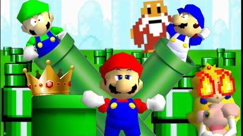Super Mario 64 Bloopers: Problematic Pipe Problems