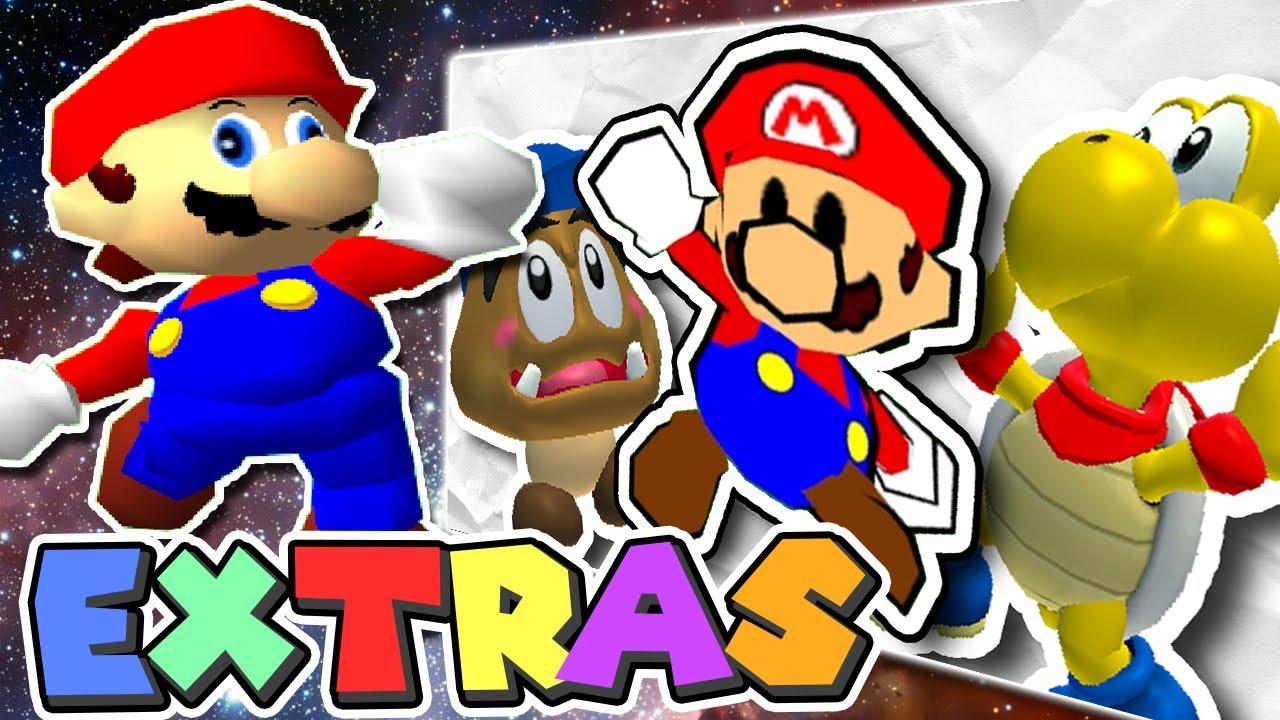 Mario's EXTRAS: Stupid Paper Mario/Gallery