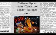 Toads fail