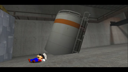 Mario Goes to the Fridge to Get a Glass Of Milk 186