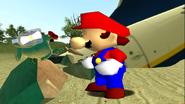 Mario Gets Stuck On An Island 047