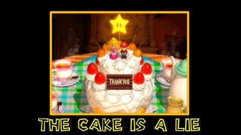 Super_mario_64_blooper_short_The_cake_is_a_lie!