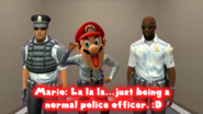 A Completely Normal Police Officer