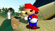 Mario Gets Stuck On An Island 046