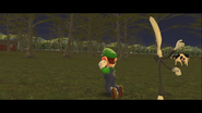 Mario Goes to the Fridge to Get a Glass Of Milk 256