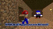 SMG4 Mario Raids Area 51 screencaps 4