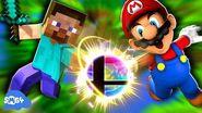 SMG4 Steve VS Smash Bros