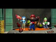 Splatfest Incident 011 (Mario, Luigi, Tari and Bob)