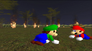 Mario Goes to the Fridge to Get a Glass Of Milk 282