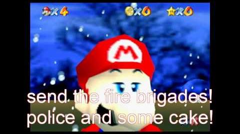 Super Mario 64 Bloopers: Italian Kidnapping