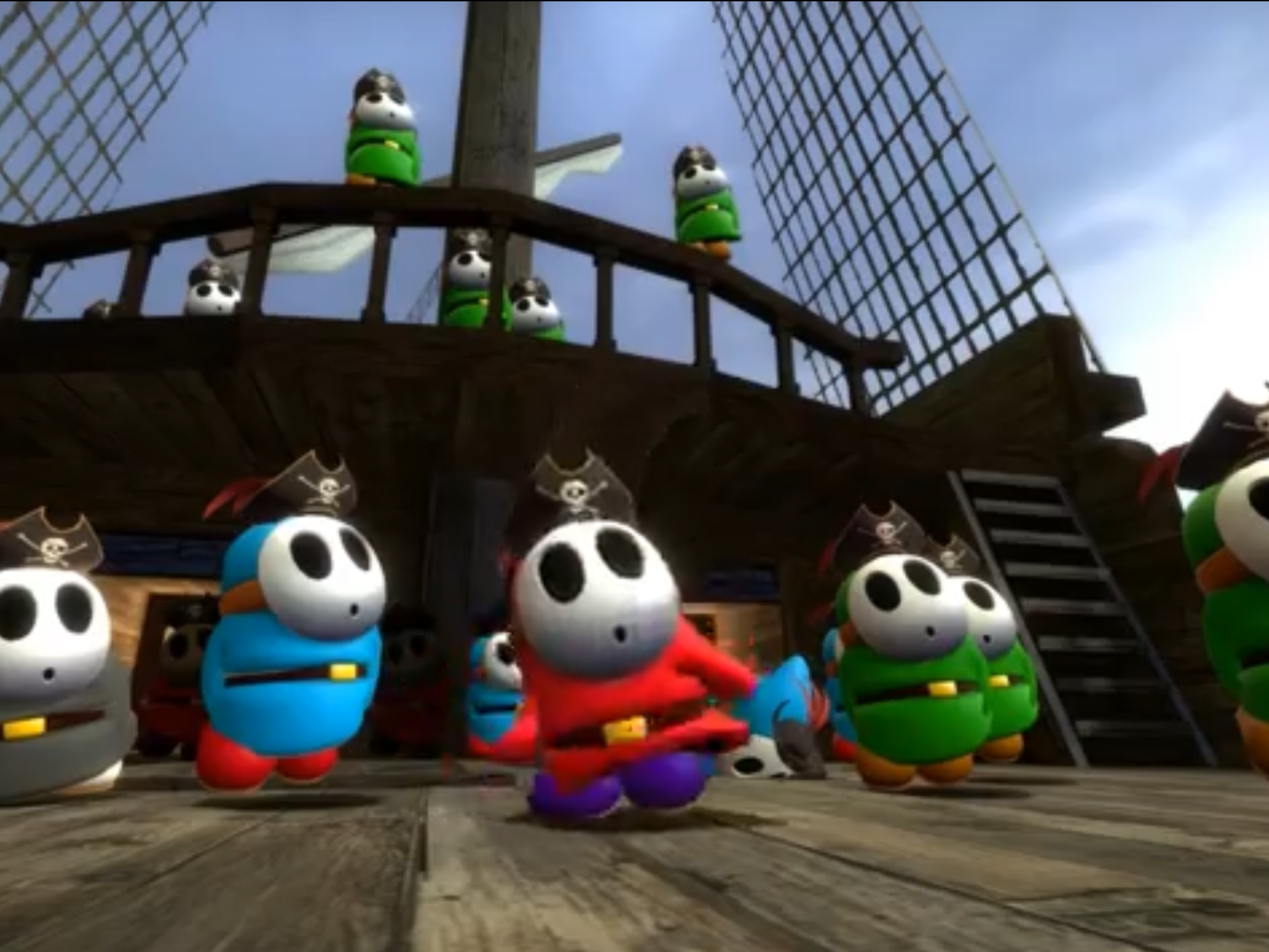Shy Guy Pirates