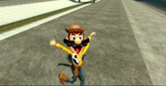 Mario as Woody