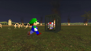 Mario Goes to the Fridge to Get a Glass Of Milk 286