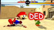 Mario Death Screen Desert Stage SEOITAB