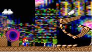 Mario in the Bootleg Dimension