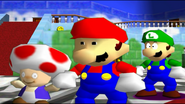 Mario And The T-Pose Virus 011