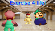 You'll Never Take Mario Alive