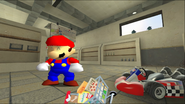 Mario Goes to the Fridge to Get a Glass Of Milk 022