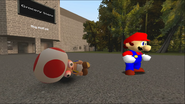 Mario Goes to the Fridge to Get a Glass Of Milk 068