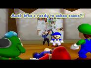 Mario Saves Anime 104