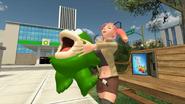 Saiko Hugging Fishy