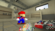 Mario Goes to the Fridge to Get a Glass Of Milk 021