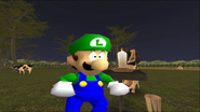 Mario Goes to the Fridge to Get a Glass Of Milk 244
