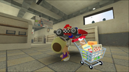 Mario Goes to the Fridge to Get a Glass Of Milk 016
