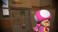 Mario Goes to the Fridge to Get a Glass Of Milk 063