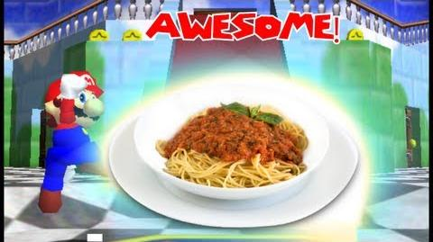 Super Mario 64 Bloopers: How to Make Spaghetti (20,000 subs)
