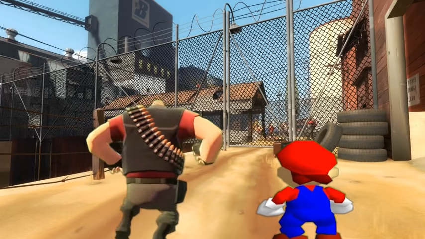 If Mario was in...Team Fortress 2/Gallery