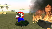 Mario Gets Stuck On An Island 025