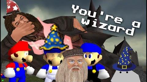 Super Mario 64 Bloopers: Spells n' Wiztards