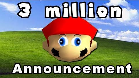 3 Million Subscriber Special Announcement Thing