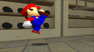Mario Goes to the Fridge to Get a Glass Of Milk 027