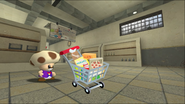 Mario Goes to the Fridge to Get a Glass Of Milk 014