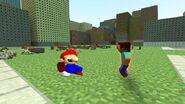 SMG4 If Mario Was in... Minecraft screencaps 78