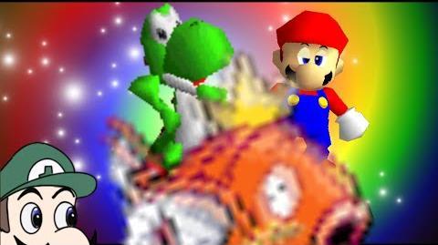 Super Mario 64 Bloopers: Yoshrooms.