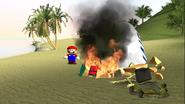 Mario Gets Stuck On An Island 021