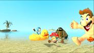 Mario Gets Stuck On An Island 200