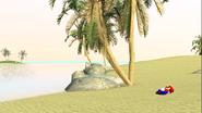 Mario Gets Stuck On An Island 003