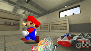Mario Goes to the Fridge to Get a Glass Of Milk 024