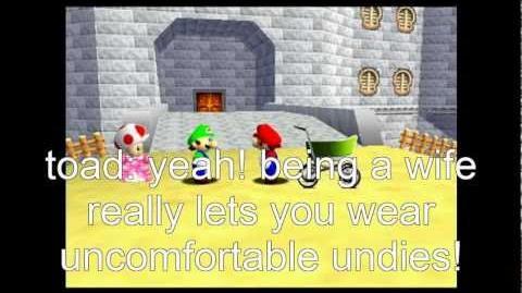 Super Mario 64 Bloopers: The Babysitters